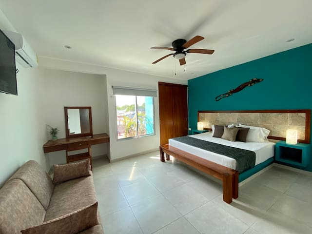 Private Apt + Ideal for couples + Tulum Center # 6