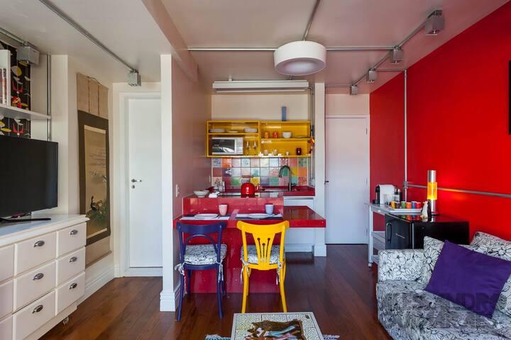 BOUTIQUE DUPLEX LOFT W/ GARAGE - São Paulo - Appartement