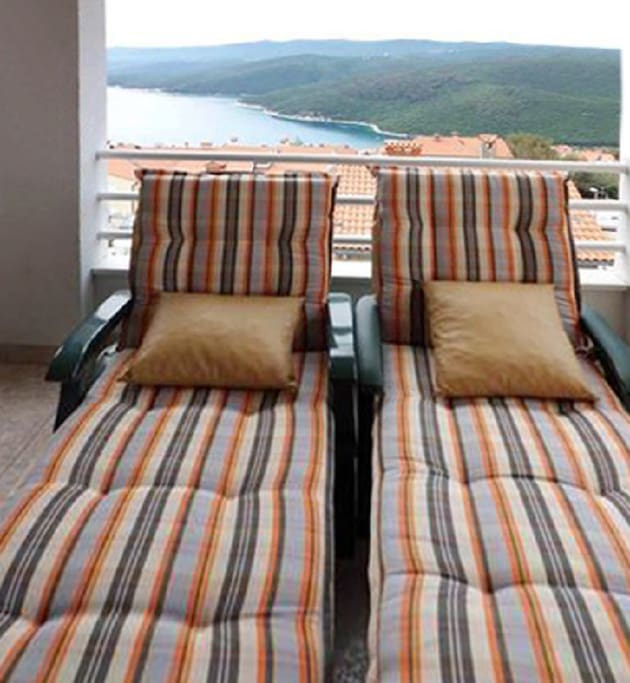 deckchairs