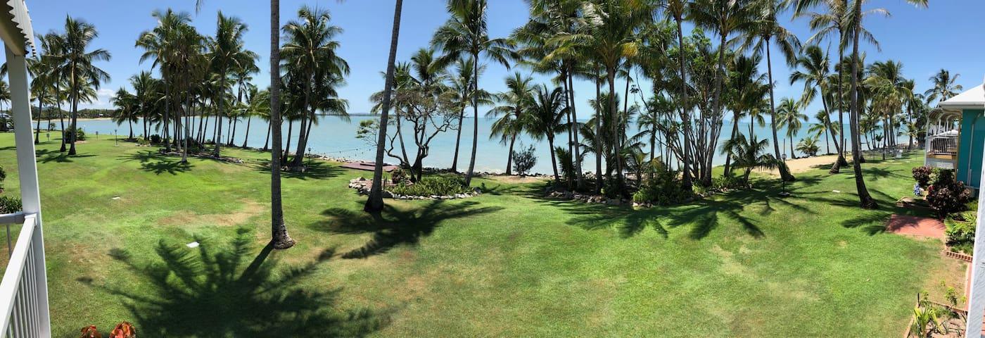 Ocean front room, Dolphin Heads Resort