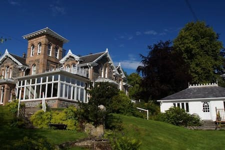 Scottish Highlands - Holly Lodge - Strathpeffer - Strathpeffer - 住宿加早餐