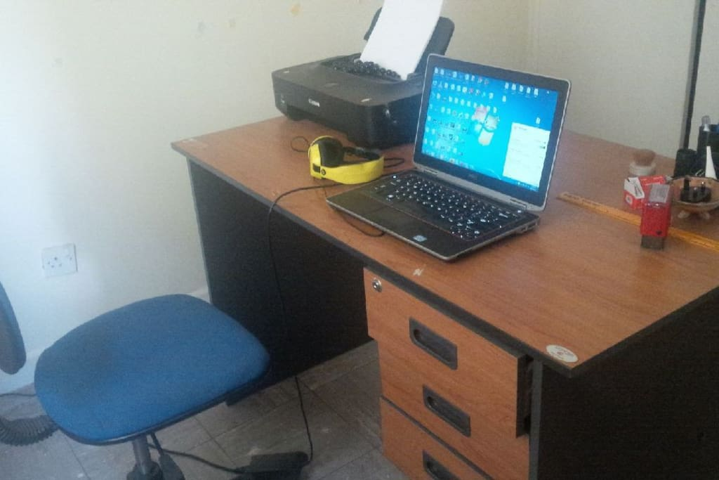 office space. fast internet. telephone services