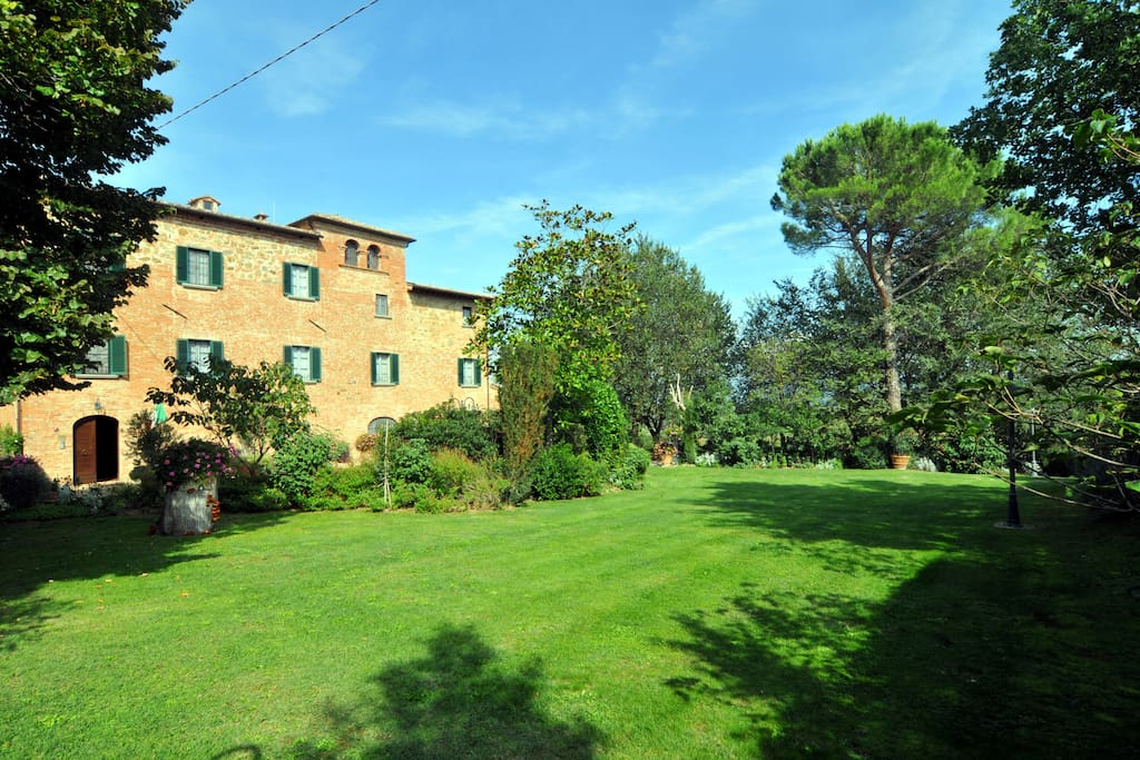 Villa Paffetti, scorcio del parco