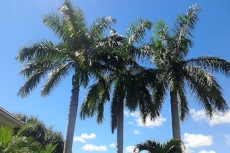 Tropical Villa 10 min. to Beach, Spa, Rests, Shops - Boynton Beach - Villa