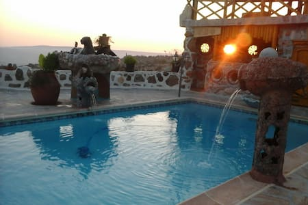 Paphos Accommodation - 4 Bedroom - Milia - Huvila
