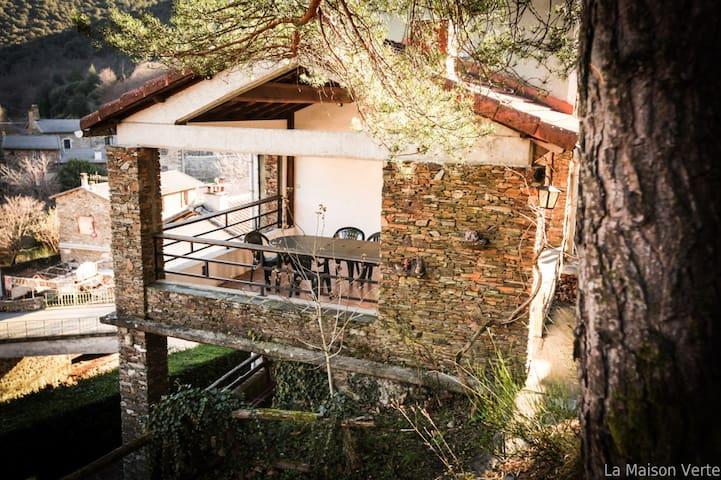 La Maison Verte en Cévennes - Les Plantiers - Apartment