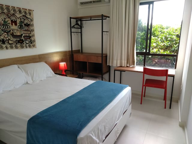 Apart-hotel novíssimo - diária ou mensal