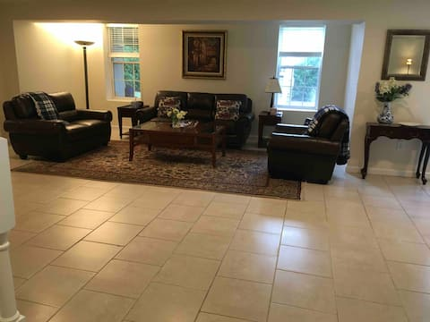 SPECIOUS PRIVATE BASEMENT UNIT WITH NO SHARING