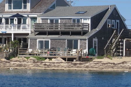 Beach Front Cottage with waves right up to  deck! - Provincetown
