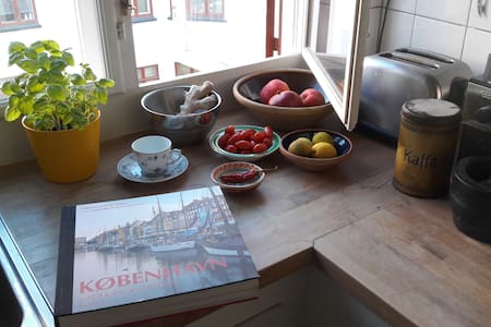 Cozy, central near waterfront. Quality breakfast! - Kopenhag - Daire