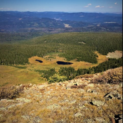 Taos County High Mountain Cabin