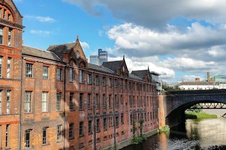 Stunning Victorian downtown flat - Manchester
