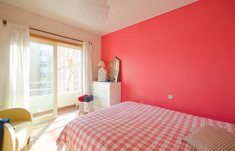 suite with a balconi near Porto
