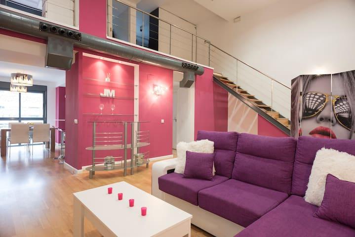 Bonito loft con wifi doble - Alcorcón - Loft