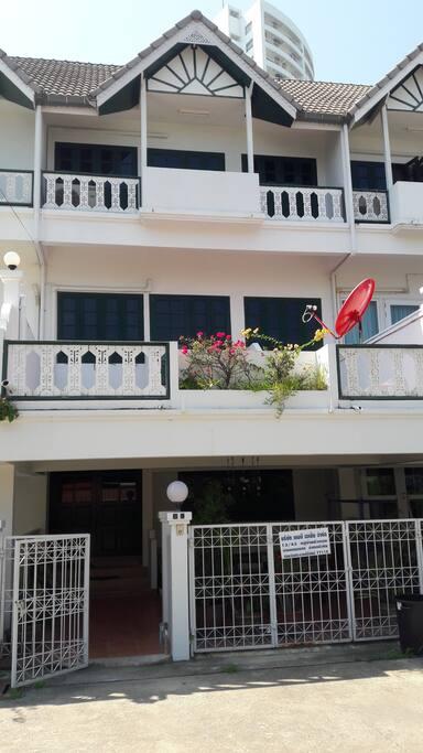 Exterior of Villa