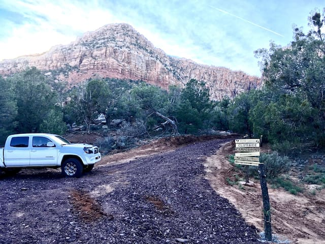 Water Canyon Cliffside - Campsite 2 - Hildale - Tenda