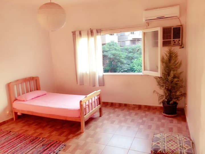 Beautiful room for rent in Heliopolis( Girls only)