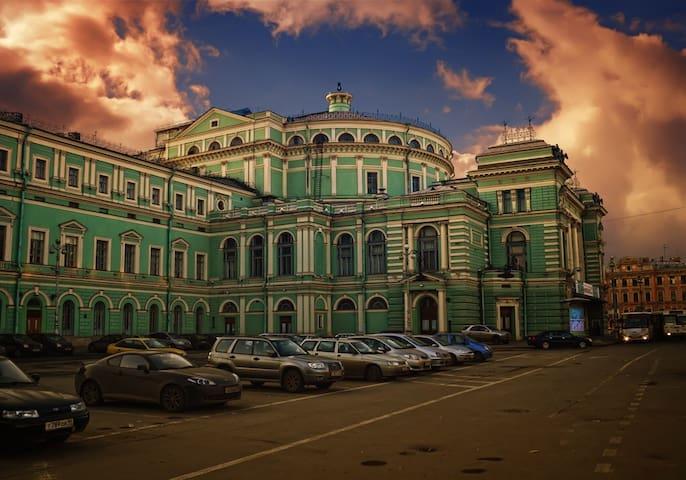 Новая квартира. Мариинский театр