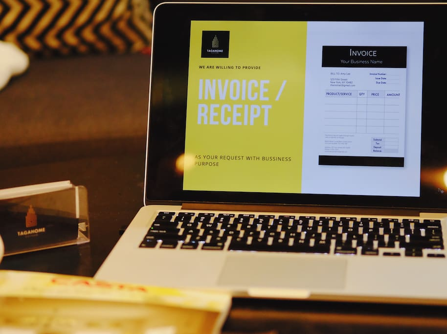 We'll also provide you invoice/ receipt as your requests.