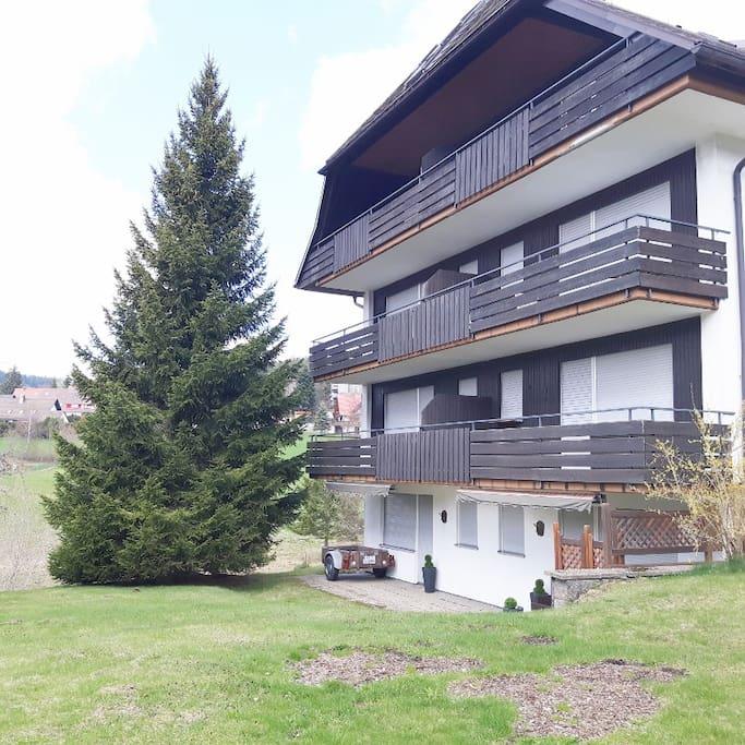Haus Schwarzwaldbub in der besten Wohnlage von Schluchsee