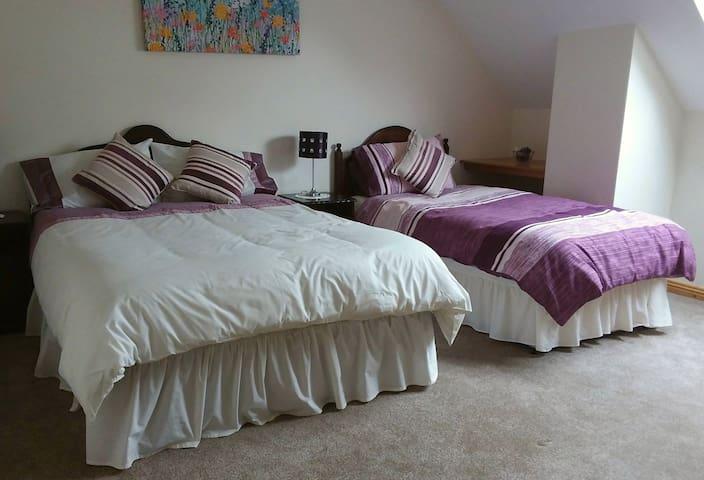 Double & Single Beds