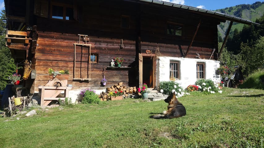 Chalet d'alpage et son potager - Saint Nicolas la Chapelle - Bed & Breakfast
