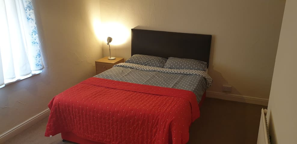 Private double room with shared space. Burslem.