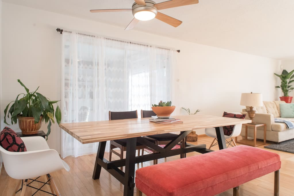 Welcome Home! Spacious, Modern feel meets Vintage vibe