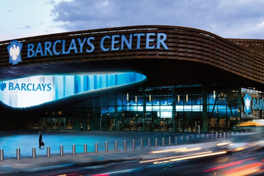 2 blocks from Barclays Center!