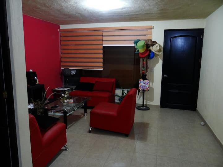 (4) Habitaciones cercanas al corazón de Tlaxcala.