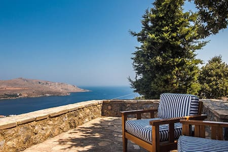 Villa SailAway in Leros - Agia Marina - วิลล่า
