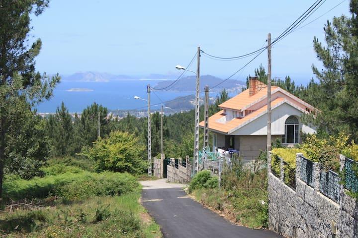 Mar y montaña en las Rias Baixas