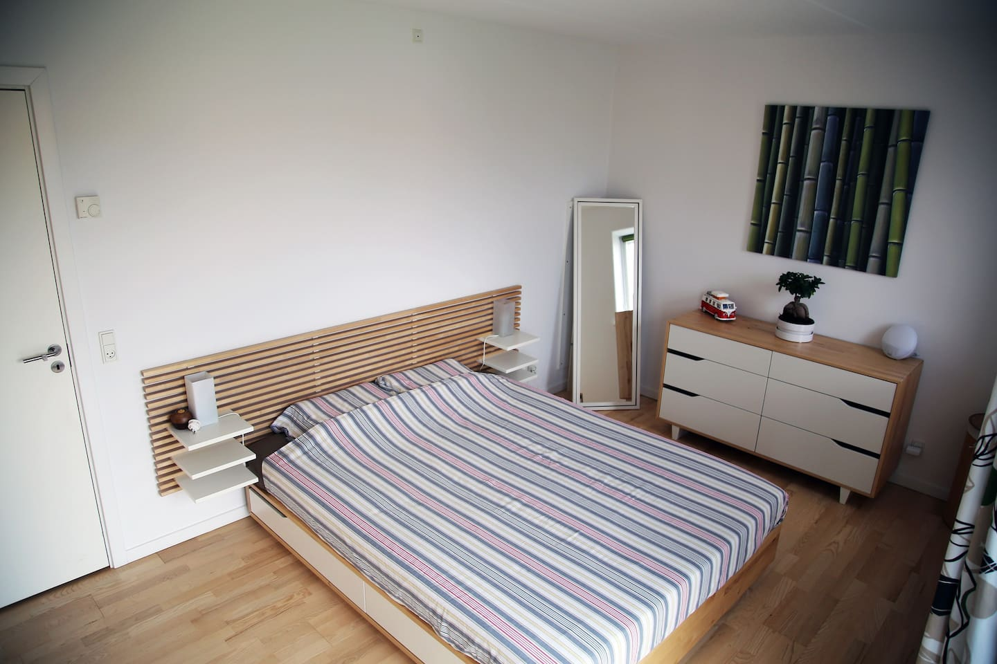 Big room 18sqm with King Size Bed
