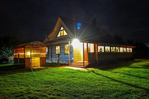 Экологически чистый дом в заповедной деревне