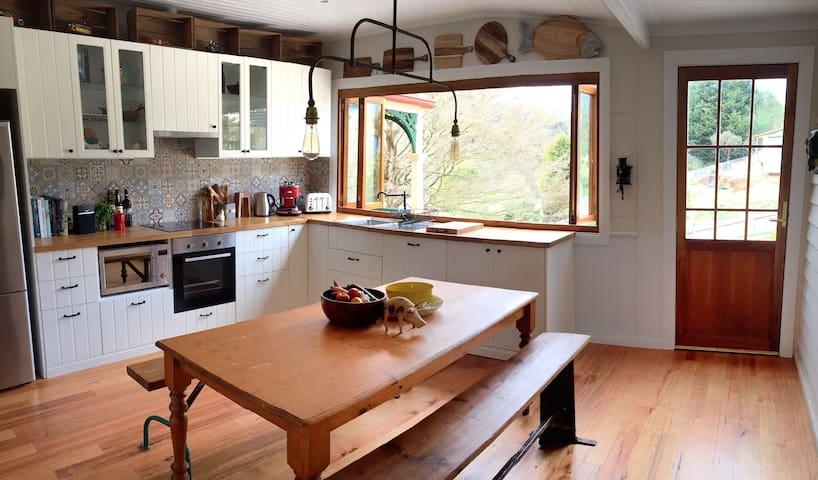 New Kitchen/Bathroom, Panoramic View, Outdoor Bath