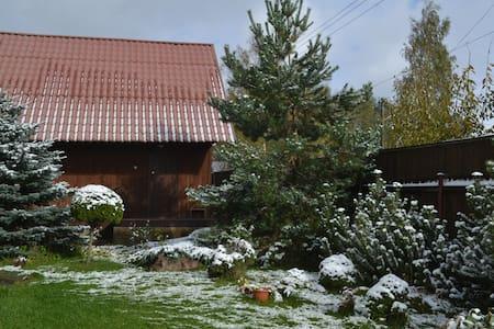 Двухэтажный дом из бруса с финской сауной - Полесье Снт (манихино) - Dům