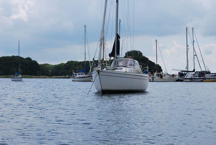 Beau voilier de 10 m au cœur de la Zelande - Kortgene