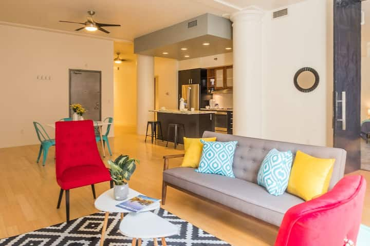 Stylish Cultural District 2BR Apt