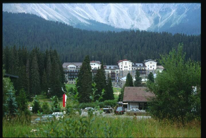 Dolomiti Lago di Carezza bilo panoramico 4 posti - Nova Levante - Apartment