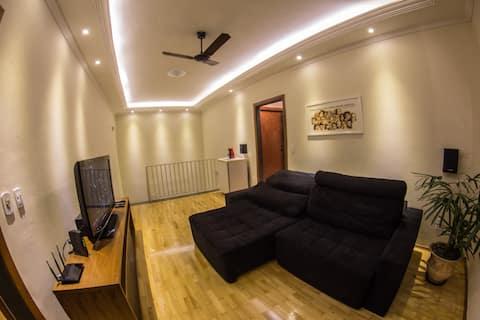 Casa ampla e confortável próxima ao Santuário