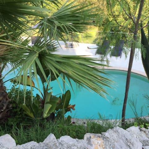 Chbre luxe avec piscine sur colline - Aspremont - Apartemen