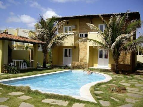 casa inteira ao lado do mar piscina churrasqueria