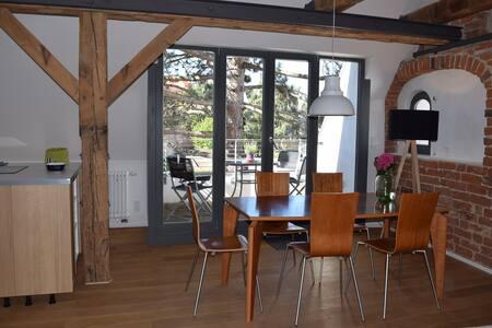 Appartement Nikolai m. Dachterrasse - Apartment