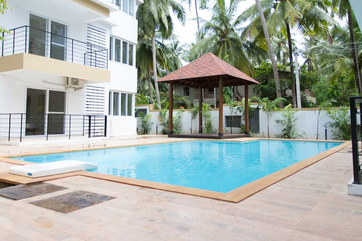 3 Bed Apartment Near Baga - North Goa - Arpora - Huoneisto
