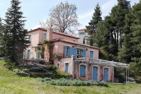 Two-story house in North Evia