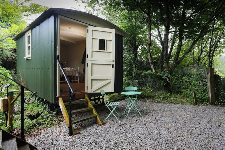 Shepherds hut at Berry Lane Cottage - Nanstallon - Bed & Breakfast