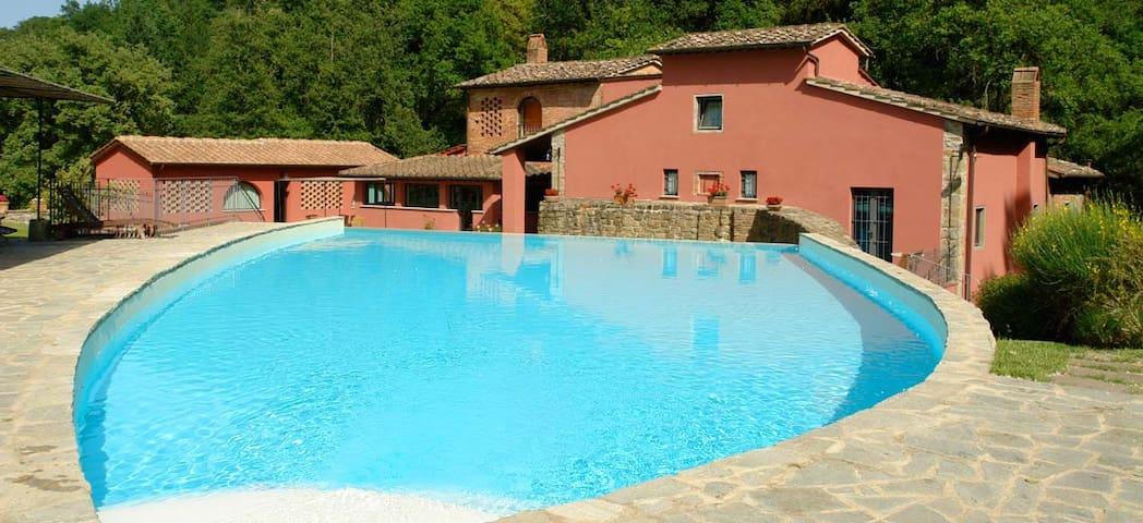 Un antico Mulino nel cuore toscano - Montegonzi - Cavriglia - Apartment