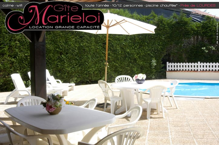 GîteMarieloi - Grand gîte + piscine - Montignac - Dům