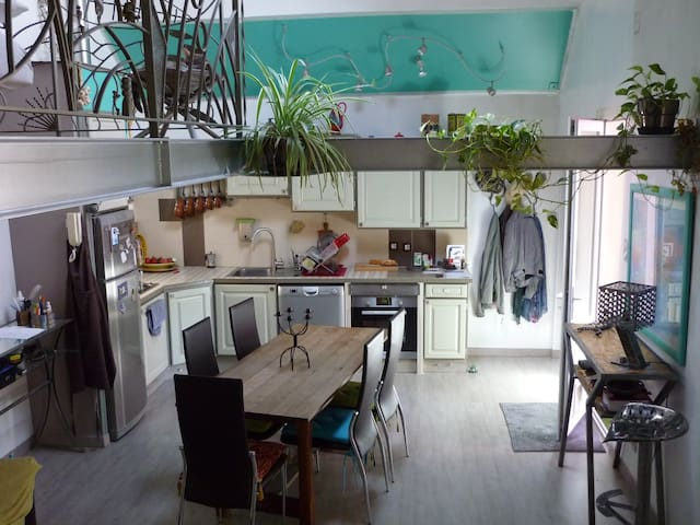 maison très agréable à vivre