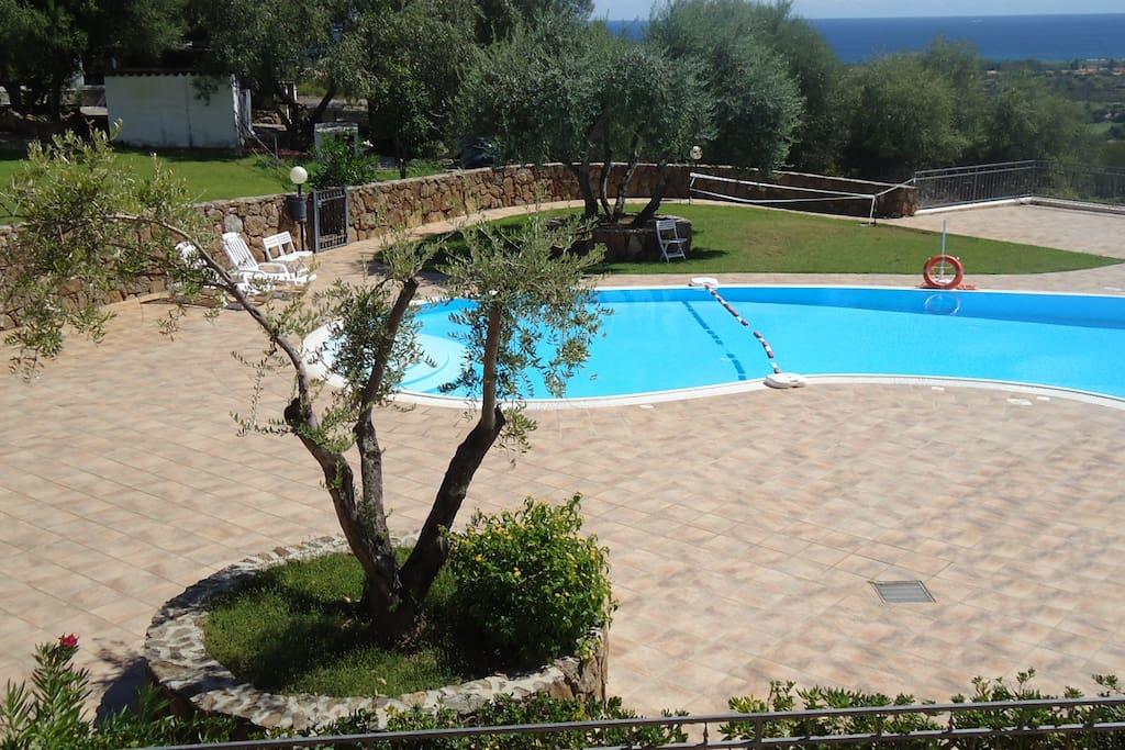 Budoni in residence con piscina tri appartamenti in - Residence con piscina sardegna ...
